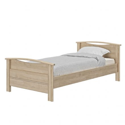 Montana Blonde Oak Single Bed